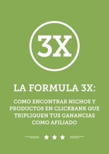 La formula 3x