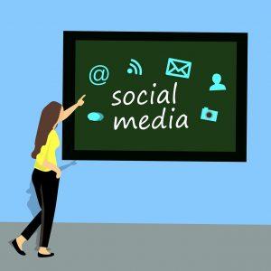 social media para marketing de afilaición
