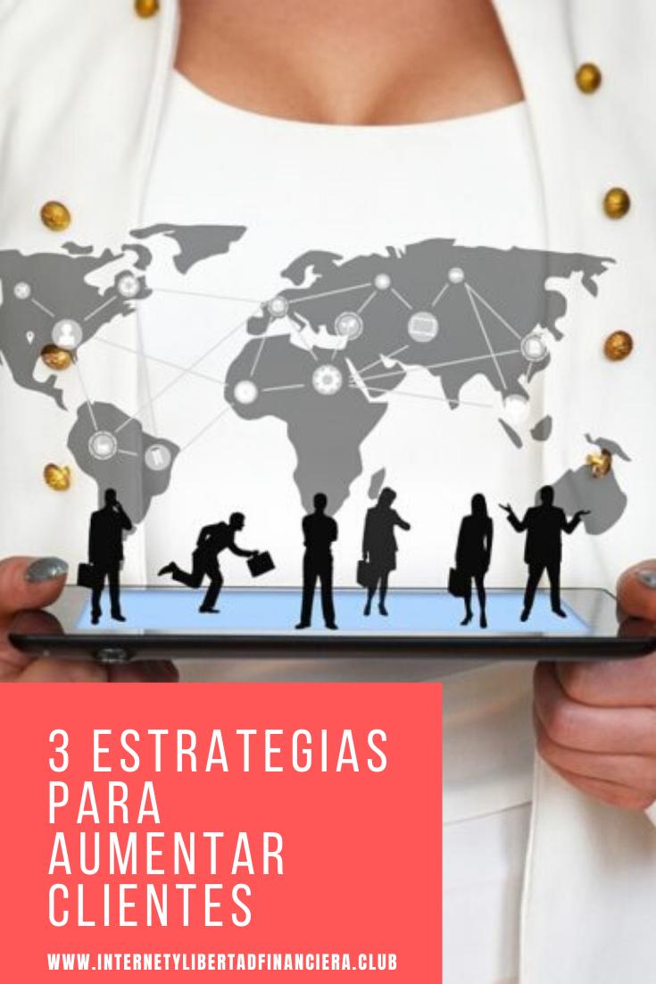 estrategias para aumentar clientes