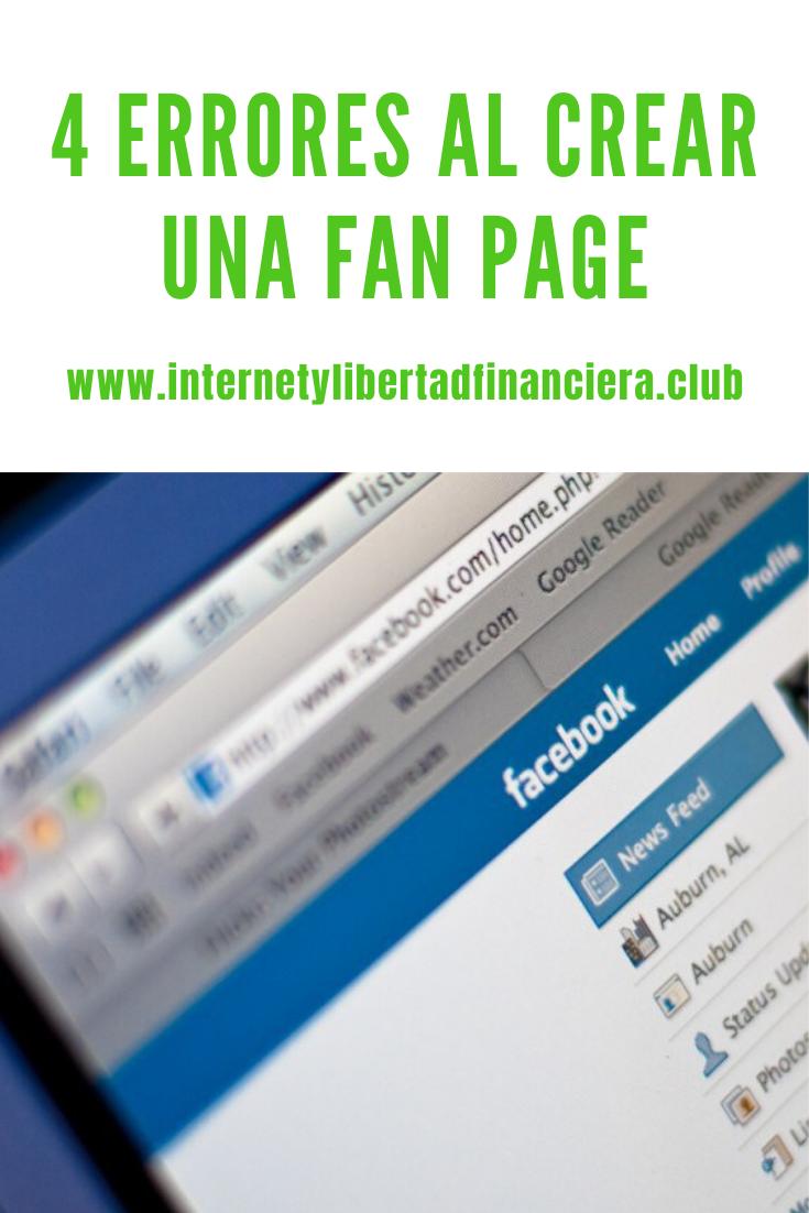 Crear una Fan Page