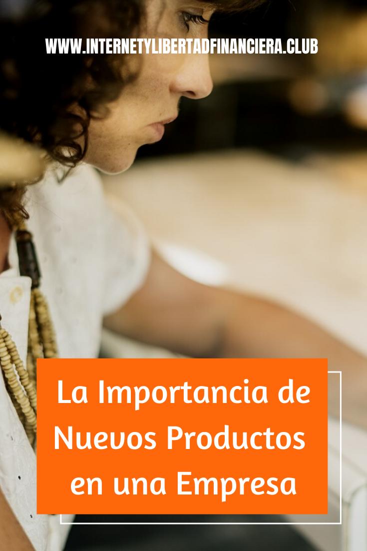 importancia de nuevos productos