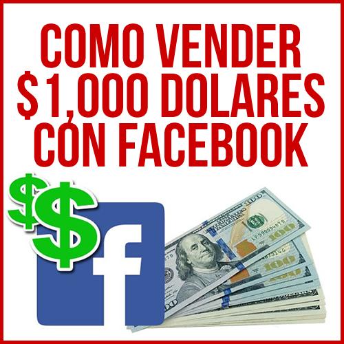 ganar 1000 dolares en facebook