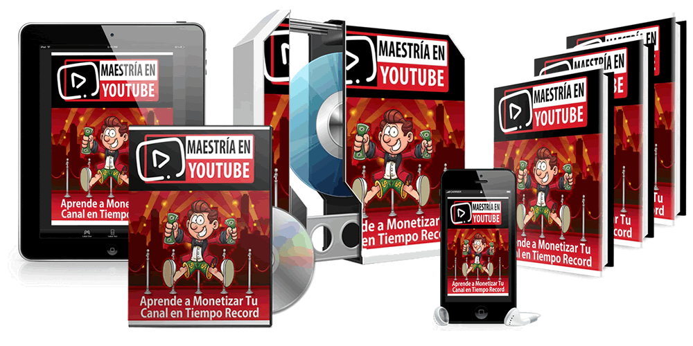 maestria en youtube curso
